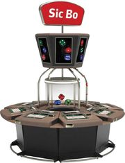 8 Players Electronic Video Slot Machines Roulette Game Machine Mystery Jackpot System